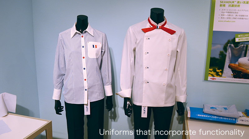 Uniforms that incorporate functionality